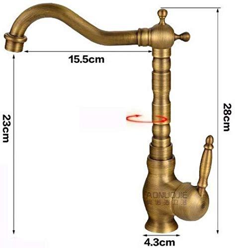 Bad Wasserhahn Design Küchenarmatur Niederdruck Einhebel-Waschtischmischer-Hebebühne 5G1283 Aus Messing