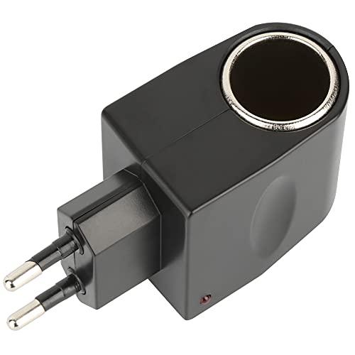 Adaptateur Allume-Cigare 220V 12V, Adaptateur de convertisseur d'alimentation de Voiture 12V DC 500mA 6W, Protection IC améliorée