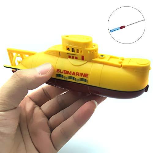 EUDAX Mini RC Water Boat Toy Remote...