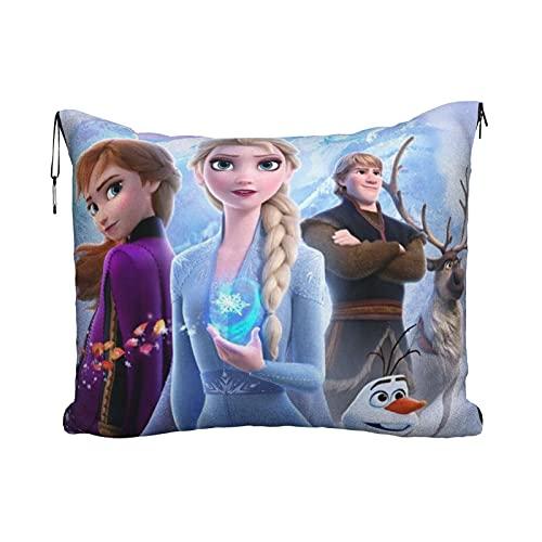 Elsa - Manta de viaje para exteriores, ultraligera, súper suave, cálida y cálida, para descansar en avión, 152,4 x 109,2 cm