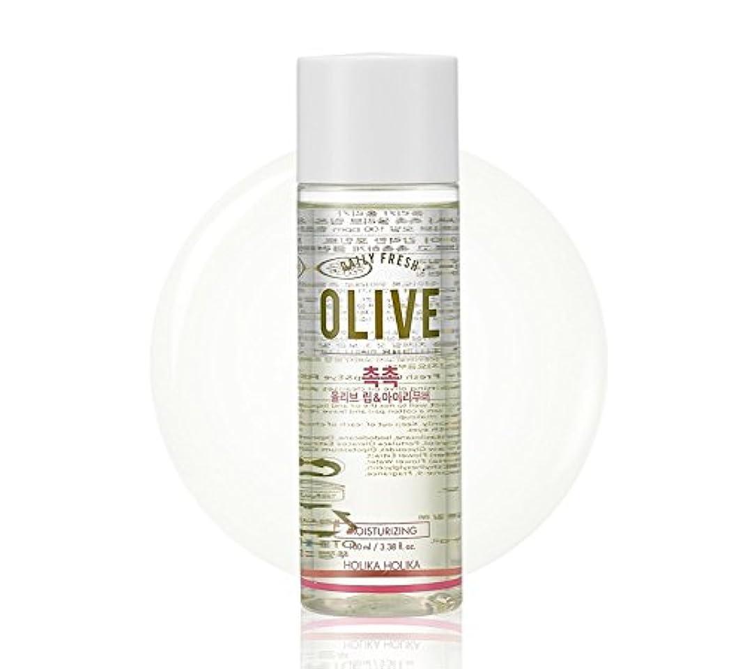 待って話す牛Holika Holika daily fresh olive lip& eye remover(moisturizing) ホリカホリカデーリーフレッシュオリーブリップアンドアイリムーバー [並行輸入品]