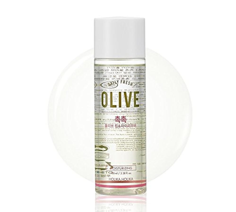 ずらす割り込み節約Holika Holika daily fresh olive lip& eye remover(moisturizing) ホリカホリカデーリーフレッシュオリーブリップアンドアイリムーバー [並行輸入品]