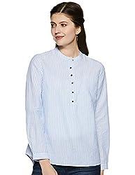 Van Heusen Woman Womens Striped Regular fit Shirt