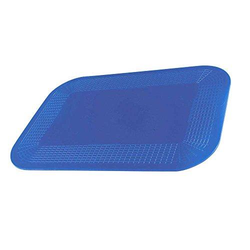 1x Behrend Dycem Anti-Rutschmatte, Antirutsch-Unterlage, beidseitig haftend, blau, 35cm x 25cm