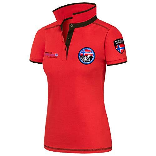 Nebulus Poloshirt Forward Damen, rot - L (40)