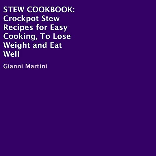 Stew Cookbook audiobook cover art