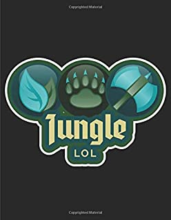 JUNGLE: Journal and Notebook, Perfect for Video Game Fans - Size (8.5 x 11 inches) with lined pages - Ideal as a gift