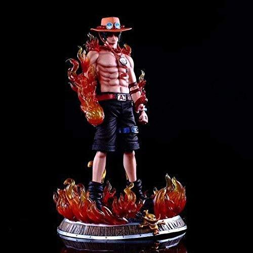 XSLOP Einteiliges Anime Feuer Faust Arm Arm Traum Ass Handpuppe Dekoration Hochwertige Statue Puppe Skulptur Spielzeug Dekoration Modell Puppe Höhe 41cm