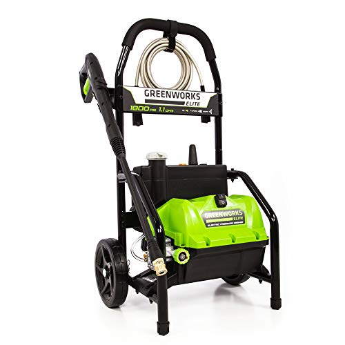 Greenworks PW-1800 1800 PSI 1.1 GPM Electric Pressure Washer