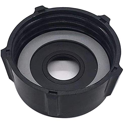 4902 Threaded Bottom Cap with 1-Gasket Fits All Osterizer Blenders & Kitchen Centers, Mini Blend &Blend N Store