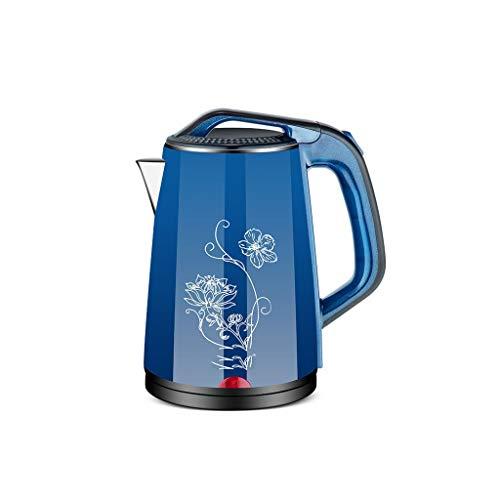 ZSQHD Wasserkocher Edelstahl Wasserkocher mit Sicherheit Auto-Off-Funktion Schnell elektrischen Kochtopf