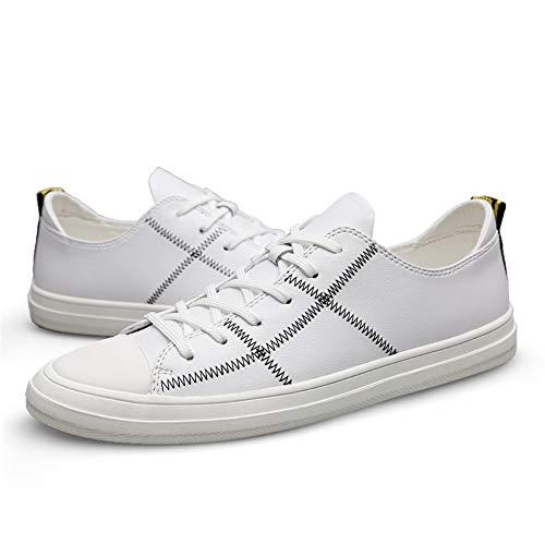 Zapatos Cubierta, Zapatos Casuales Transpirables de los Hombres Zapatos de Moda británica...