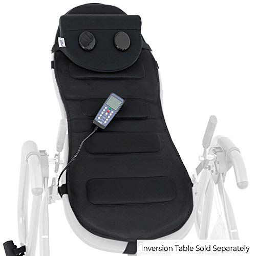 Teeter Better Back Vibration Massage Cushion with Neck Support - Accessory for Inversion Table