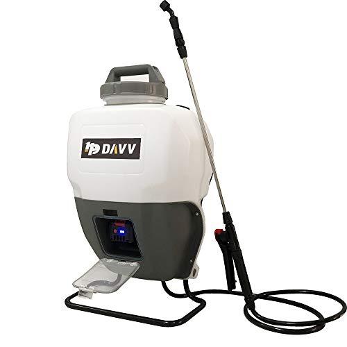 HPDAVV - 4 Gallon - Battery Powered Backpack Sprayer - Portable Cordless Electric Lawn & Garden Spray