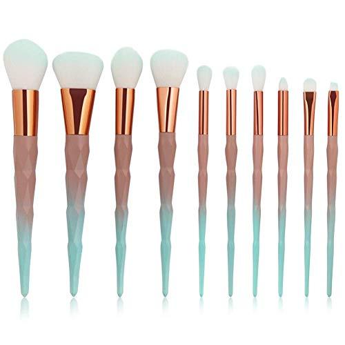 BBGSFDC Pincel de Maquillaje fácil de Llevar ceja cosmética de Maquillaje Sombra...