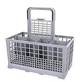 Cesta para Cubiertos Resistente Al Calor, Organizador De Almacenamiento De Cocina, para Restaurante, Accesorio para Lavavajillas, 240x120x140mm, Hogar