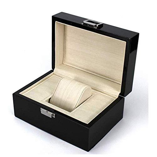 ADSE High-End-Schmuckschatulle mit schwarzem Lack - Uhrenschachtel Holzschachtel-Verpackungsschachtel