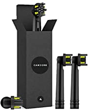 Candore X4 Pulse One Black Carbon Infused by Candore X4 – 100% recyclebaar – natuurlijk bleekmiddel – compatibel met elektrische tandenborstels
