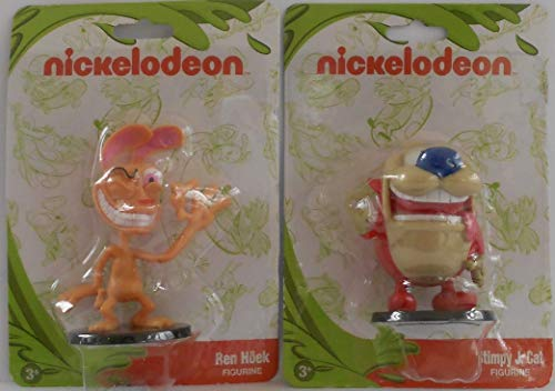 Monogram International Nickelodeon 2 Character Bundle - PVC 2.75 inches - Ren & Stimpy