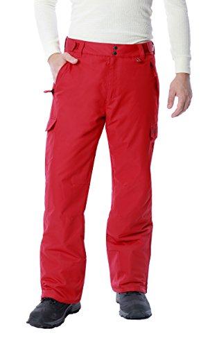 Arctix Men's Snow Sports Cargo Pants, Vintage Red, X-Large/Regular