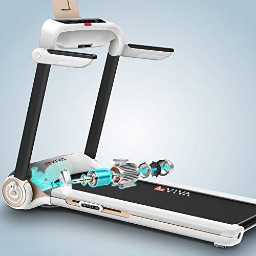 AsVIVA Laufband T21 kompakt – Heimtrainer Bild 3*