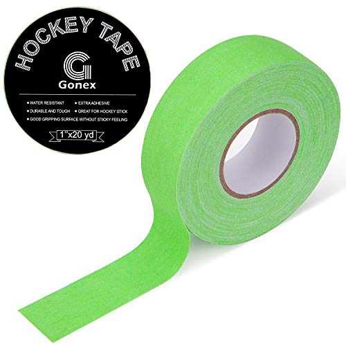 Gonex Eishockey-Klebeband, 2,5 cm x 18 m, Grün