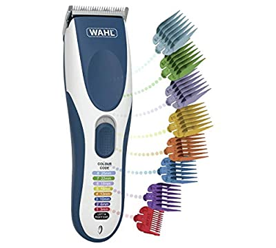 Wahl Hair Clippers for Men, Colour Pro Cordless Head Shaver Men's Hair Clippers with Colour Coded Clipper Guides from Wahl