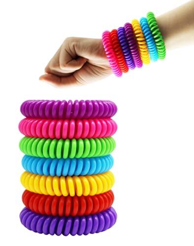 Mückit Mückenschutz Armband anti mücken Armband Kinder Mückenabwehr 10 Stück