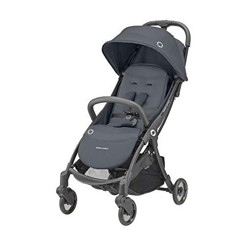 Bébé Confort Jaya, poussette compacte et légère, citadine, avec pliage automatique, De la naissance à 4 ans (jusqu à 22kg) Essential Graphite