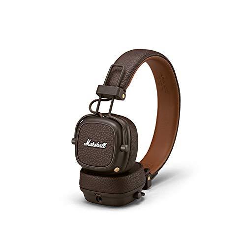 Marshall Major III Bluetooth Auriculares plegables, Marrón