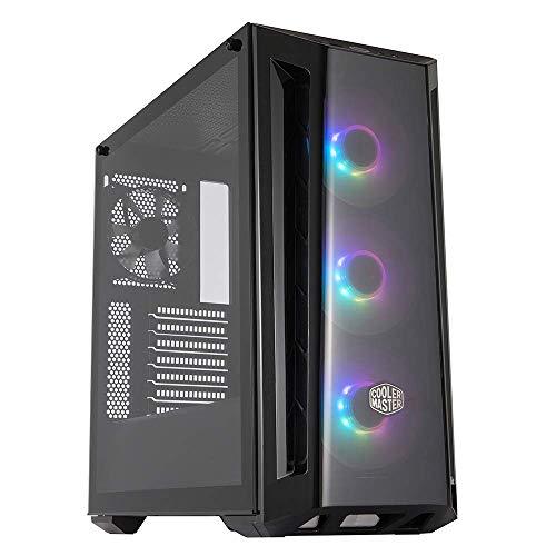 Cooler Master MasterBox MB520 ARGB - Case PC ATX con Pannello Anteriore Sfumato, 3 x 120 mm Ventole Premontate, Pannello Laterale in Vetro, Configurazioni Flessibili Airflow - ARGB