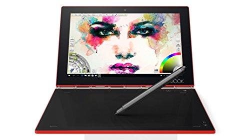 Lenovo za150343de 25,65cm (10,1pollici) Tablet PC (AMD A4z8550, Hard Disk 128GB, 4GB RAM, Intel HD Graphics, Win 10Pro, QWERTZ (GERMAN Keyboard) rosso