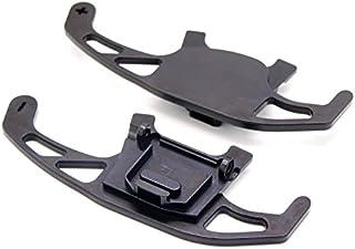 baodiparts 2Pcs Aluminum DSG Paddle Shift Extension Black