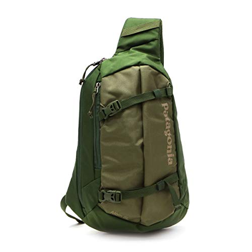 Patagonia Unisex's Atom Sling 8L Backpack, Fatigue Green, Regular