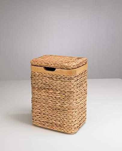 artra design GmbH wasmand met sierlijst van massief hout natuur 35/25/50 cm