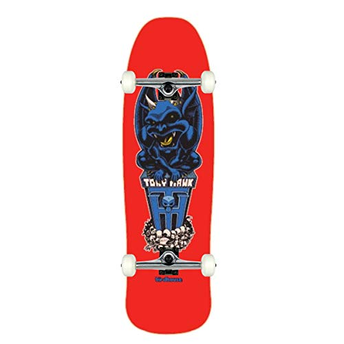 "Birdhouse Skateboard Complete Tony Hawk Gargoyle 9.375"" Raw Trucks Assembled"