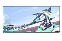 戦姫絶唱シンフォギアGX 暁切歌 マウスパッド ゲーミング アニメ 滑り止め 防水 サイズ:80x30cmx0.3cm 31009