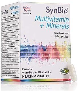 SynBio Multivitamin + Minerals | 60 Capsules | Vegetarian
