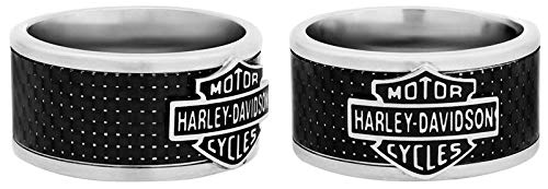 Harley-Davidson H-D Carbon Fiber Band Ring, 10 (19,9mm)