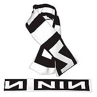 NiИ Nine Inch Nails ナイン・インチ・ネイルズ 男女兼用 超柔らかい 暖かい 防寒マフラー 襟巻き ロングマフラー ネッカチーフ 通勤 通学 メンズ レディース 秋 冬 プレゼント