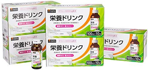 [Amazon限定ブランド] [指定医薬部外品] PHARMA CHOICE栄養ドリンク リオパミンゼロ3000 100mlx50本