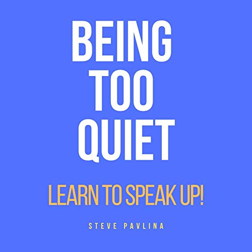 Being Too Quiet cover art