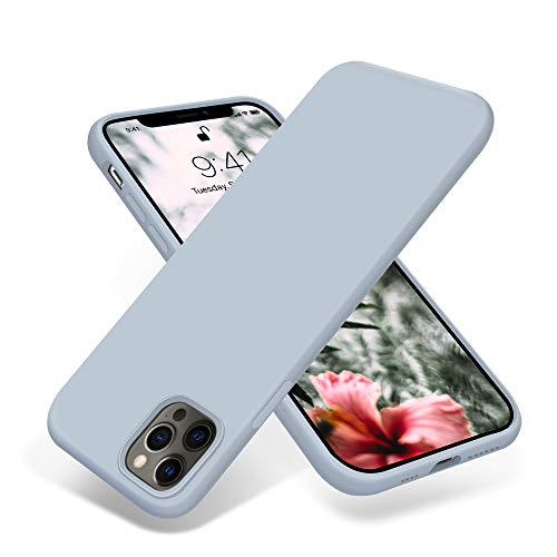OTOFLY Compatible with iPhone 12 Pro Max Case 6.7 inch(2020),[Silky and Soft Touch Series] Premium Soft Liquid Silicone…