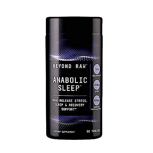 Beyond Raw Anabolic Sleep   Duel-Release Stress, Sleep, & Recovery Support   60 Tablets