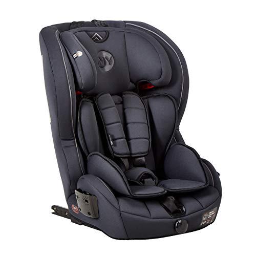 Mychild Stirling Group 123 ISOFIX Car Seat Charcoal