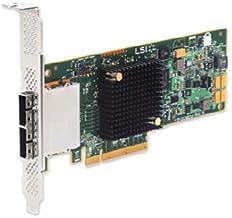 LSI SAS9207-8E Logic SGL SAS PCIE 12/3.3V CTLR 8Port Ext 6GB/S SATA Plus SAS