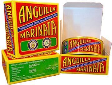 I Marinati di Comacchio - Anguilla Marinata 550g