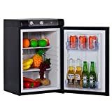SMETA 3 Way Fridge Propane Refrigerator without Freezer...