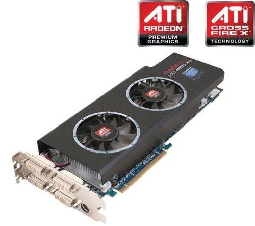 Sapphire ATI Radeon HD4850 Grafikkarte (PCI-Express, 1GB GDDR5 Speicher, DVI;HDMI, 2 GPUs)