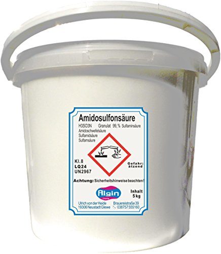 Algin Amidosulfonsäure 5kg Kalkentferner Entkalkungsmittel